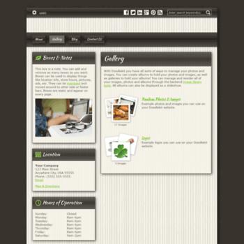 Веб сайт gregwagner.doodlekit.com
