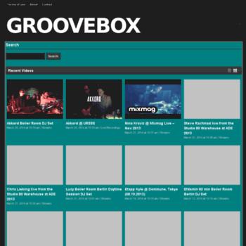 Groovebox.tv thumbnail