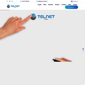 Groupe-telnet.net thumbnail