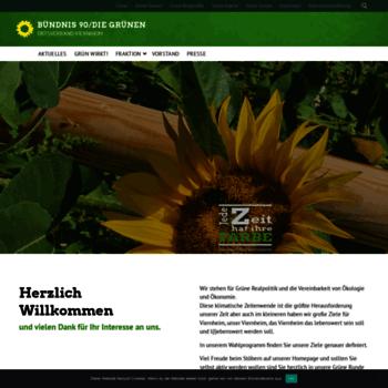 Gruene-viernheim.de thumbnail