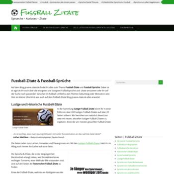 Gruene Zitatede At Wi Fußball Zitate