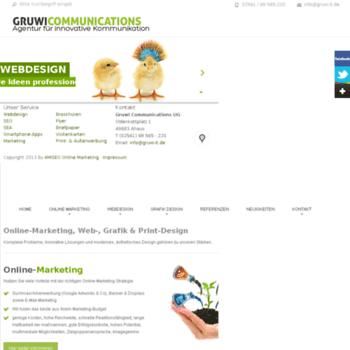 Gruwi-communications.de thumbnail