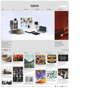 Gsa.ac.uk thumbnail