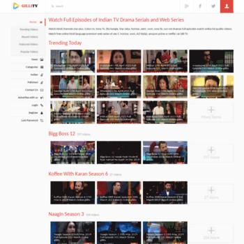 gserials com at WI  gilli tv: Watch Hindi, Urdu and Bengali Serial