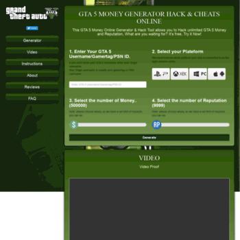 gta5-cheats online at WI  GTA 5 Money Generator - GTA 5 Hack