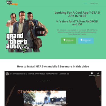 apk gta v download official gta 5 for android & ios