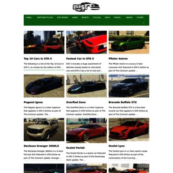 gta5car com at WI  GTA 5 Cars - New Cars List, Secret Cars, Vehicles