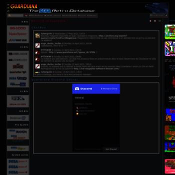 guardiana net at WI  Guardiana, the Utimate SEGA Retro