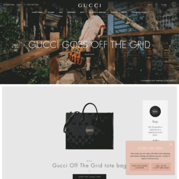 03ebc9d43d08 Gucci-stores.com thumbnail. Gucci Official Site – Redefining modern luxury  fashion.