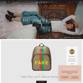 gucci.com at WI. Gucci Official Site – Redefining modern luxury fashion. cf708a4c38e7