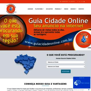 Guiacidadeonline.com.br thumbnail