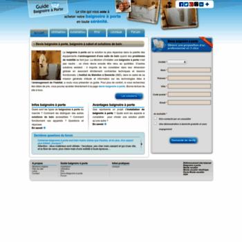 Guide-baignoire-a-porte.net thumbnail