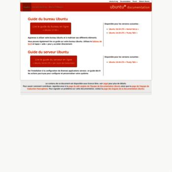 Guide.ubuntu-fr.org thumbnail