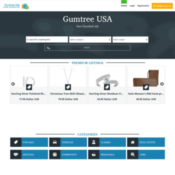 gumtreeads com at WI  Gumtree Ads | United States | Free