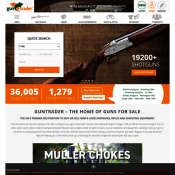 guntrader uk at WI  New and Used Guns For Sale | Sell Second-Hand