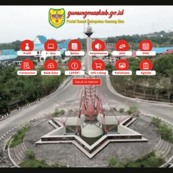 Gunungmaskab.go.id thumbnail