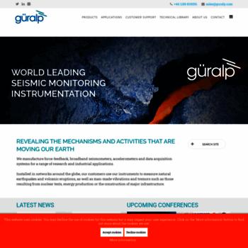 Guralp.net thumbnail