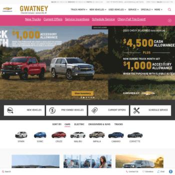 Gwatneychevrolet Com At Wi Chevrolet Dealer Jacksonville Ar