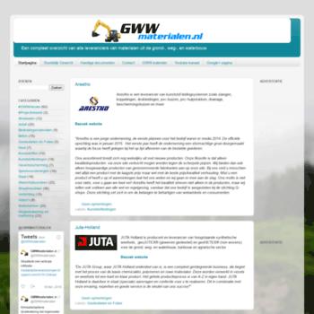 Gwwmaterialen.nl thumbnail