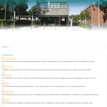 Gymnasium-bondenwald.de thumbnail