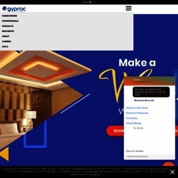 gyproc in at WI  Gypsum Ceilings, Drywall & Plastering