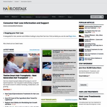 Hairlosstalk Com At Wi Hair Loss Information Treatments Support