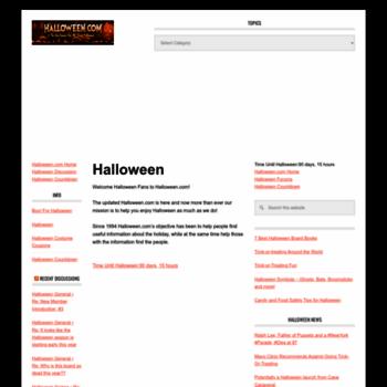 Halloween.com thumbnail