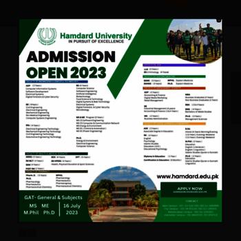 Hamdard.edu.pk thumbnail