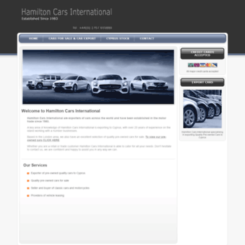 Hamiltoncars.co.uk thumbnail