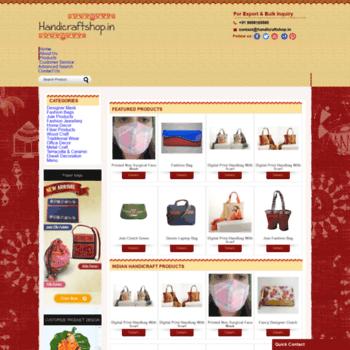 Handicraftshop.in thumbnail