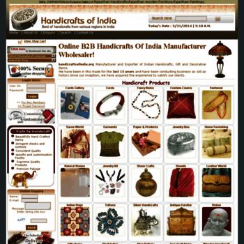 Handicraftsofindia.org thumbnail