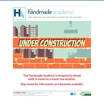 Handmadeacademy.com thumbnail