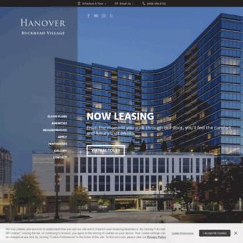 Hanoverbuckheadvillage Com At Wi Luxury Apartments In Buckhead
