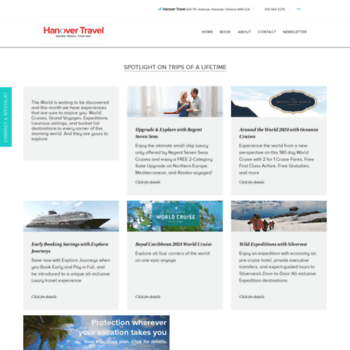 Hanovertravel.ca thumbnail