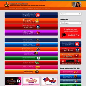 happybirthdaypics net at WI  Happy Birthday Videos and