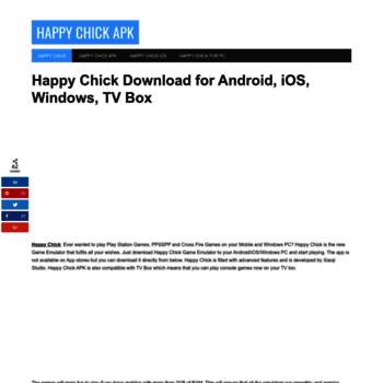 happychickapk com at WI  Happy Chick APK | Install Happy