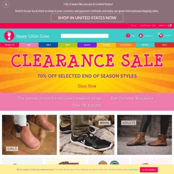 df15553d9f3 Happy Little Soles - healthy shoes for natural foot development. Visit  happylittlesoles.co.uk