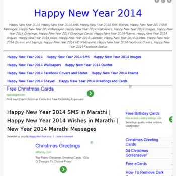 Happynewyear2014sms.org thumbnail