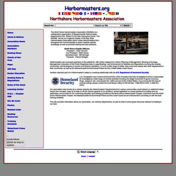 Harbormasters.org thumbnail