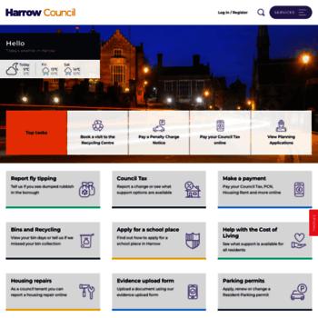 Harrow.gov.uk thumbnail