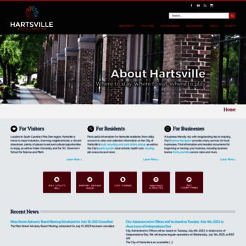 Hartsvillesc.gov thumbnail