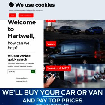 Hartwell.co.uk thumbnail
