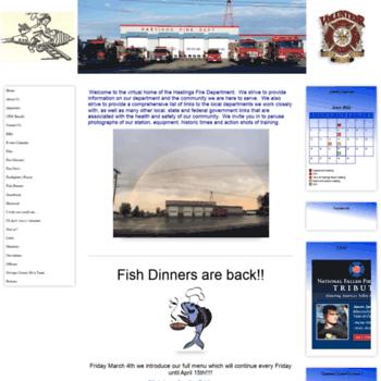 Hastingsfireinc.org thumbnail