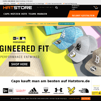 hatstore.de at WI. Caps online kaufen – RIESENAUSWAHL an Caps ... a90008a834