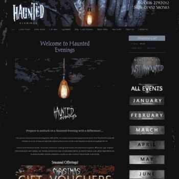 Hauntedevenings.co.uk thumbnail