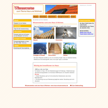 Haus-wissenswertes.de thumbnail