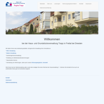 Hausverwaltung-trapp.de thumbnail