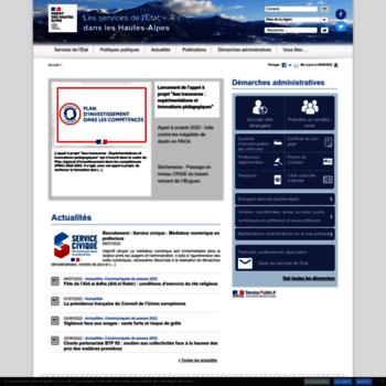 Hautes-alpes.gouv.fr thumbnail