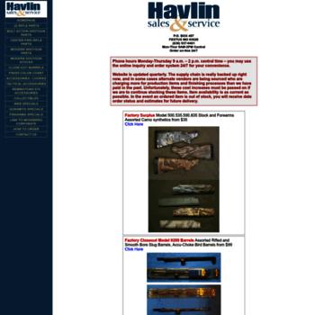 havlinsales com at WI  Havlin Sales & Service - Mossberg Gun