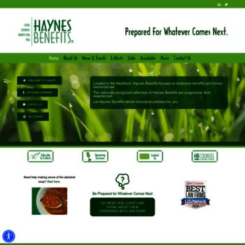 Haynesbenefits.com thumbnail